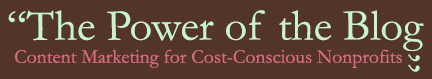 Power of the Blog Logo 6